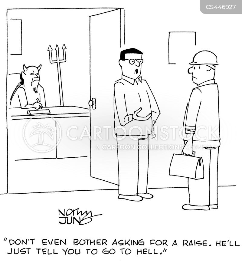Ask For A Raise Cartoons and Comics - funny pictures from CartoonStock