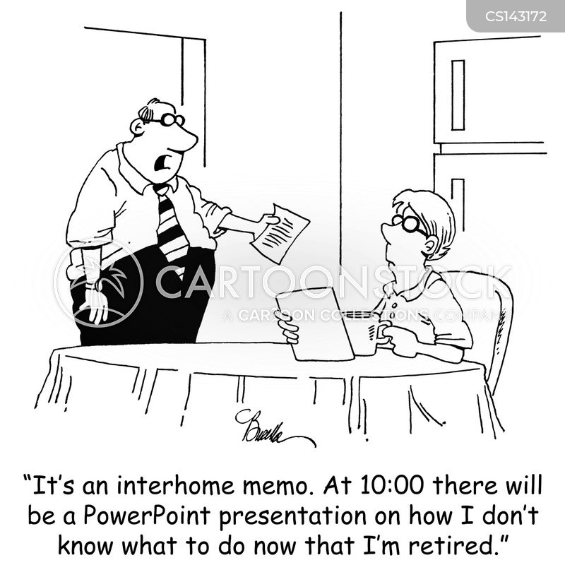 Interoffice Memos Cartoons and Comics - funny pictures from CartoonStock