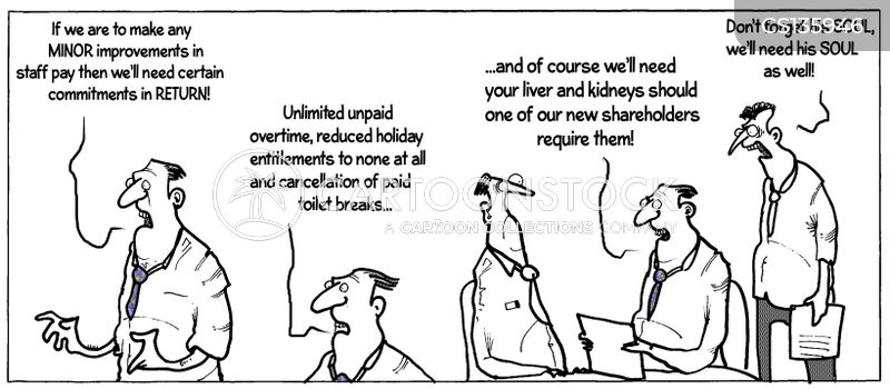 Salary Negotiation Cartoons and Comics - funny pictures from