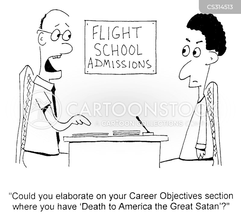 Career Objective Cartoons and Comics - funny pictures from CartoonStock