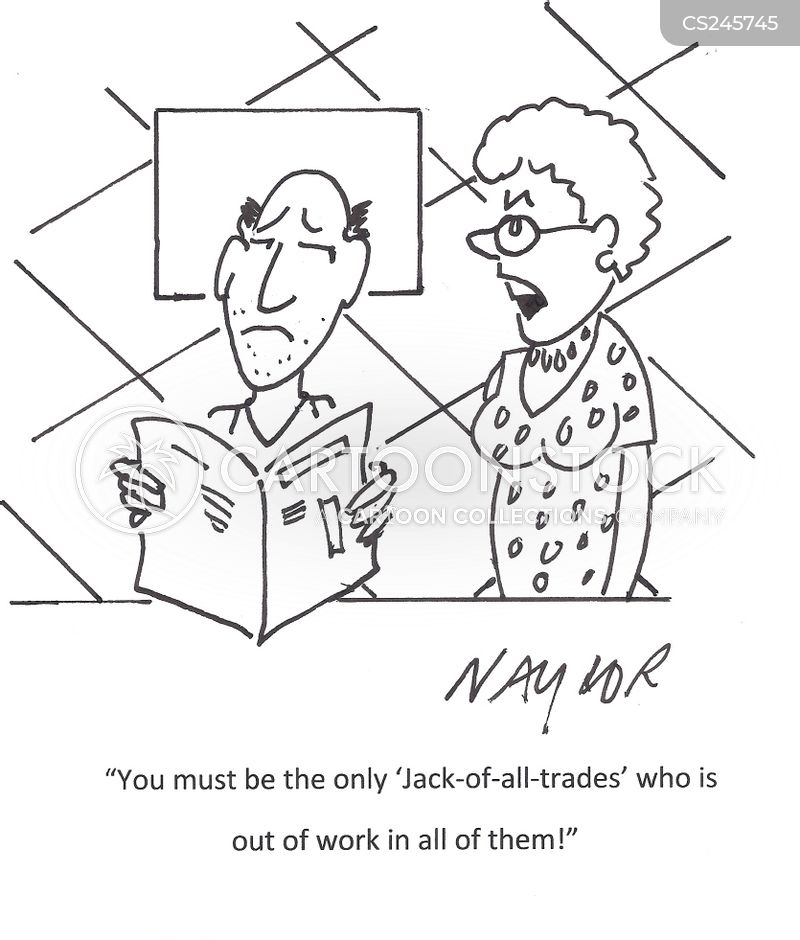 Jack-of-all-trades Cartoons and Comics - funny pictures from