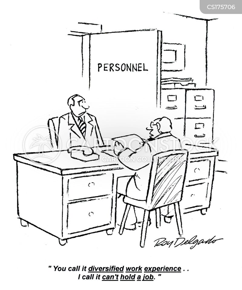 Work Experience Cartoons and Comics - funny pictures from CartoonStock