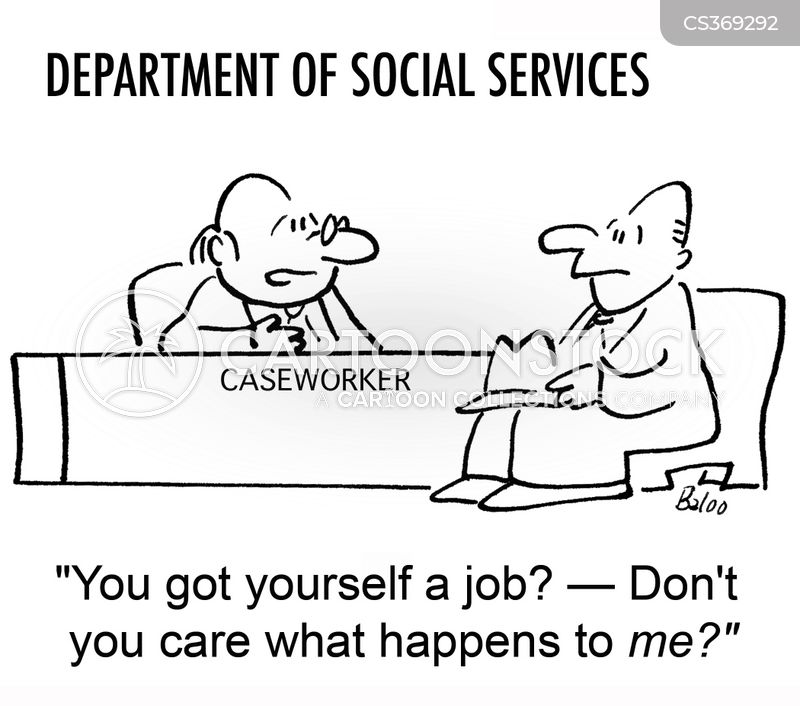Caseworker Cartoons and Comics - funny pictures from CartoonStock