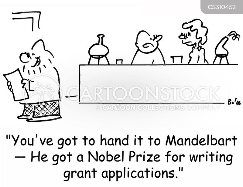 Grant Application Cartoons and Comics - funny pictures from CartoonStock