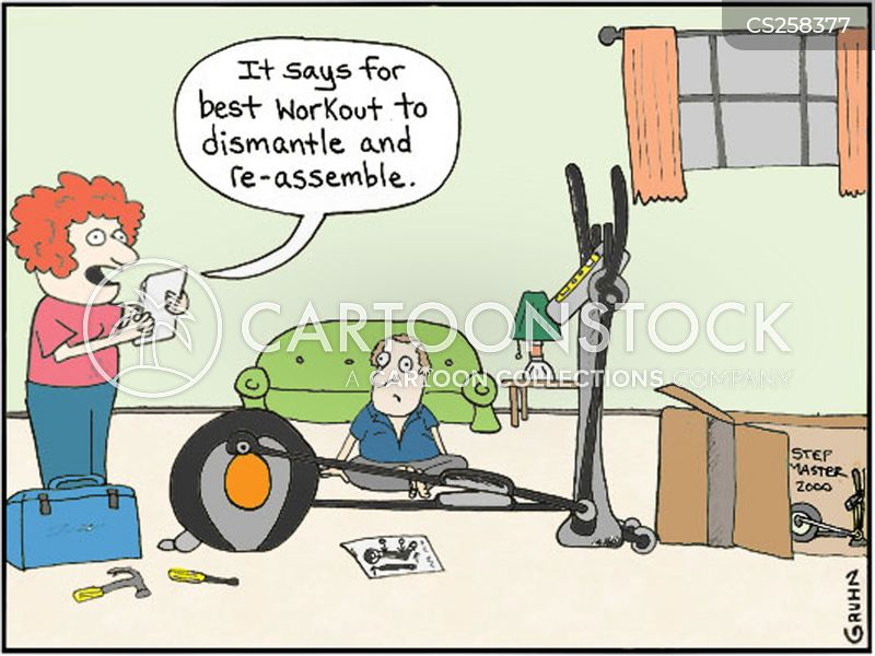 Stairmaster Cartoons And Comics Funny Pictures From