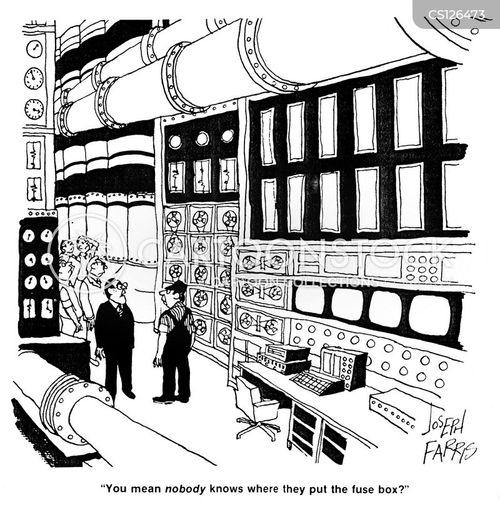 Cartoon Electrical Fuse Box Wiring Diagram