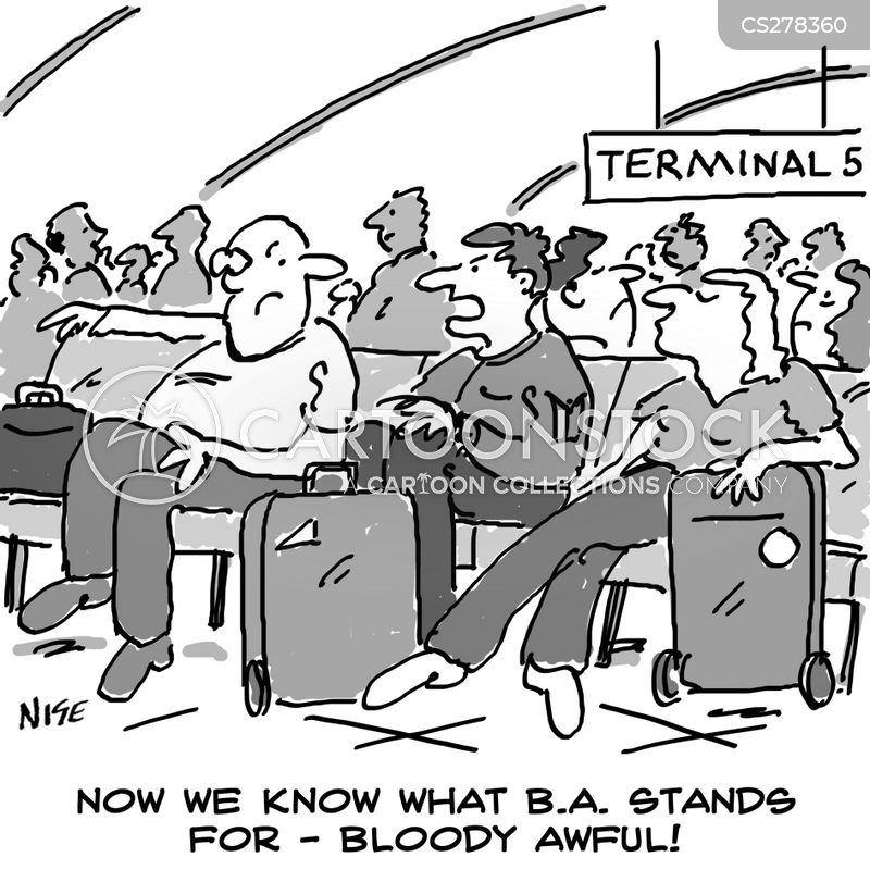 Terminal Five Cartoons and Comics - funny pictures from CartoonStock - ba stands for