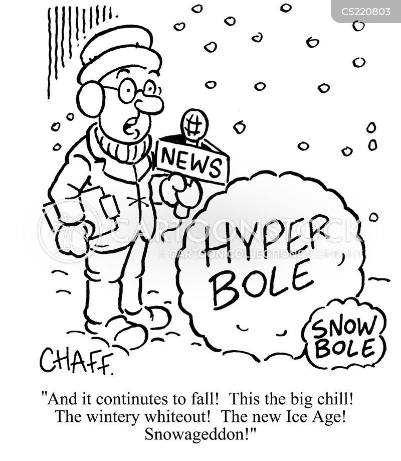 Hyperbole Cartoons and Comics - funny pictures from CartoonStock