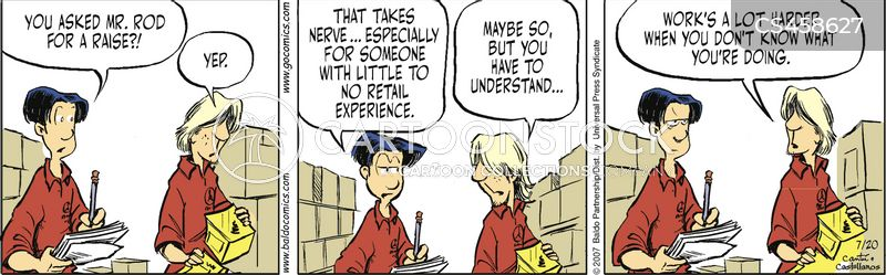Asking For A Raise Cartoons and Comics - funny pictures from