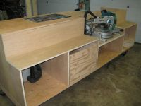 Shop made miter saw fence jig, tools for sale craigslist