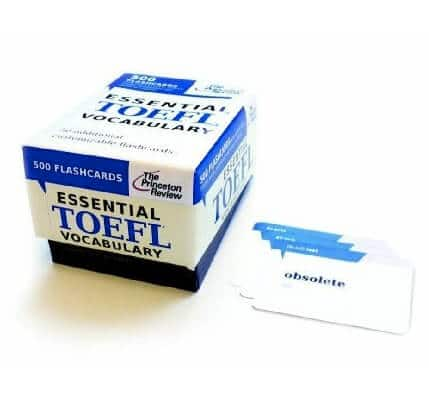Book Review Princeton Review\u0027s Essential TOEFL Vocabulary - vocab flashcards