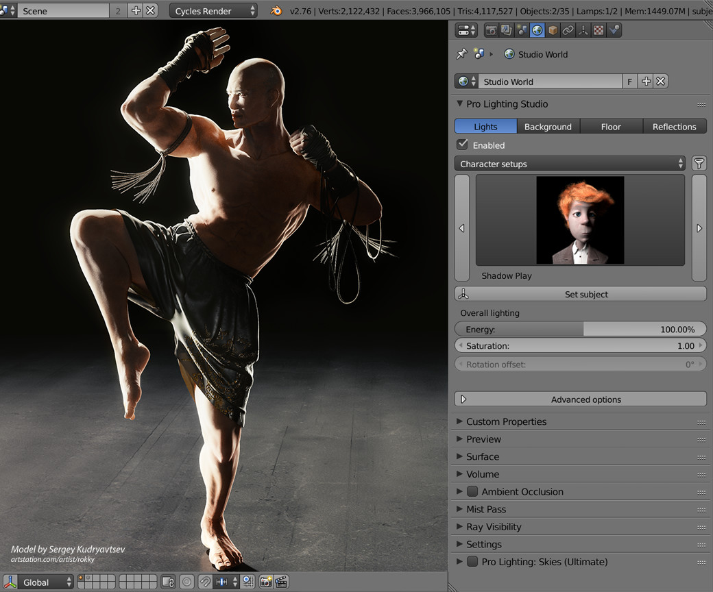 Pro Lighting Blender Addon Pro-lighting: Studio - Blender Marketpro-lighting: Studio
