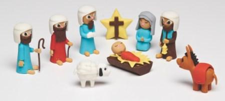 puzzle eraser nativity