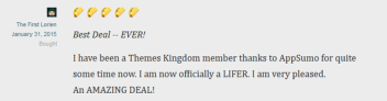 Access to Themes Kingdom Lifetime Membership