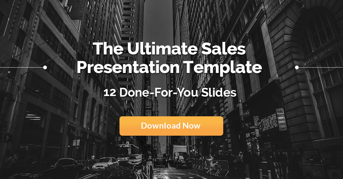 The Epic Sales Presentation Template 12 Winning Slides - sales presentation template