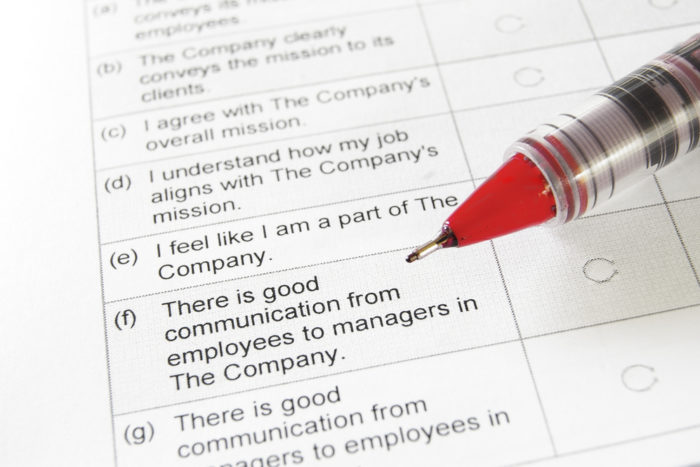 Is Your Employee Survey Worthless? TLNT - employee survey