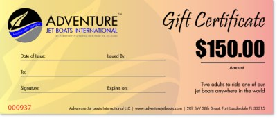Adventure Jet Boats International | Fundable - Crowdfunding for Small Businesses