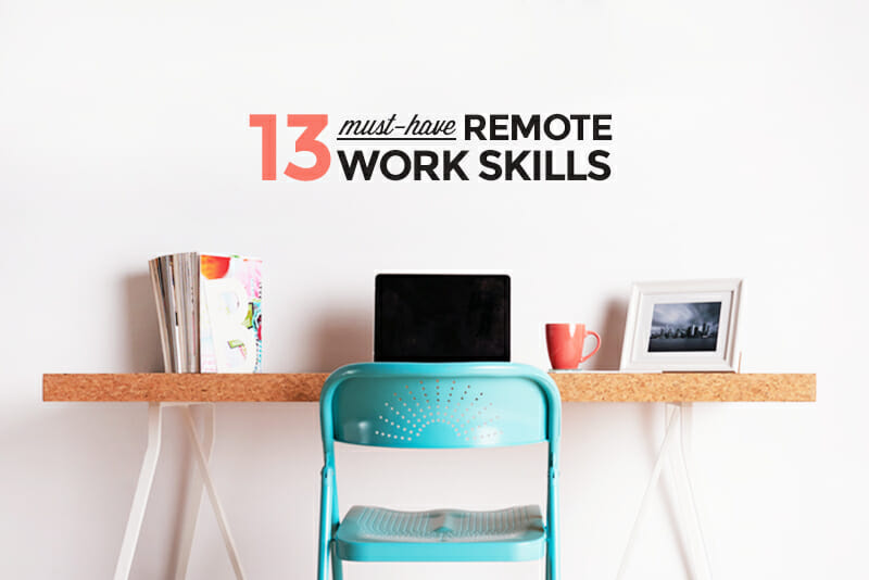 13 Tips and Tricks for Working Remotely - work tips