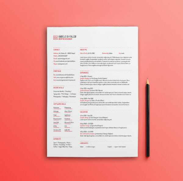 24 Free Resume Templates to Help You Land the Job - Resume Design