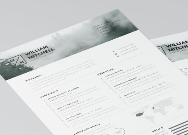 24 Free Resume Templates to Help You Land the Job - clean resume template