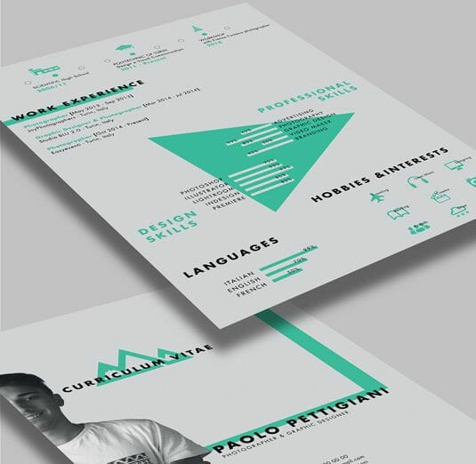 25 More Free Resume Templates to Help You Land the Job - artistic resume templates