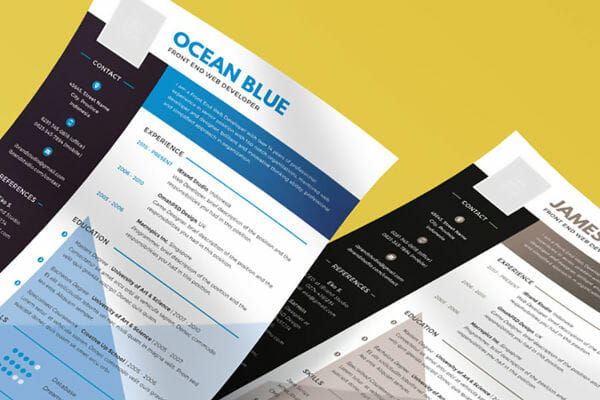 24 Free Resume Templates to Help You Land the Job - Resumes Templates Download