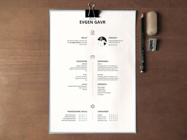 15 Free Resume Templates for Microsoft Word (That Don\u0027t Look Like Word)