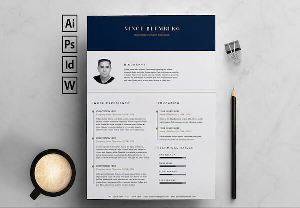 15 Free Resume Templates for Microsoft Word - Ms Word Resume Templates