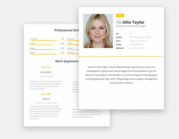 15 Free Resume Templates for Microsoft Word (That Don\u0027t Look Like Word) - Resume In Word