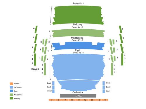 pikes peak center seating charts - Heartimpulsar