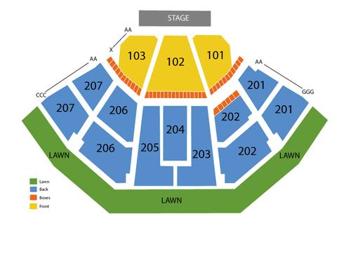 tampa amphitheatre seating chart - Denmarimpulsar