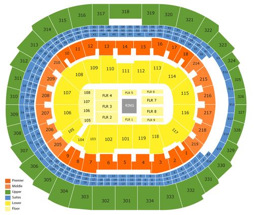 staples center boxing seating chart - Heartimpulsar