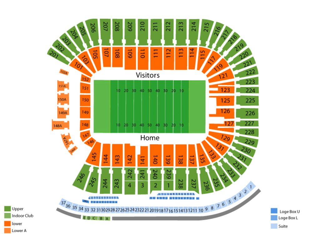 vaught hemingway stadium seating chart - Bogasgardenstaging
