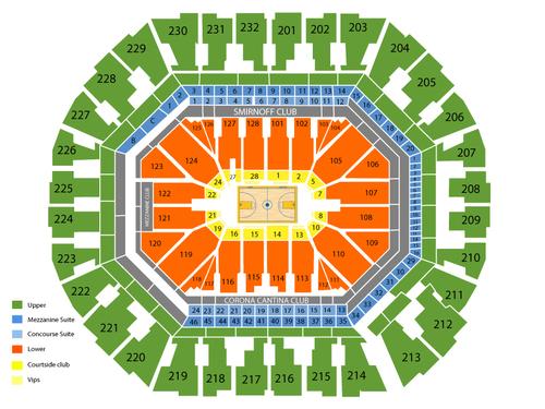 oracle arena seating chart - Kopeimpulsar