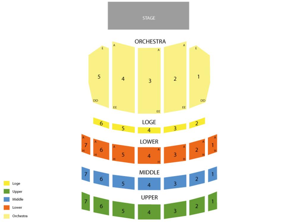 shea s performing arts center seating chart - Heartimpulsar