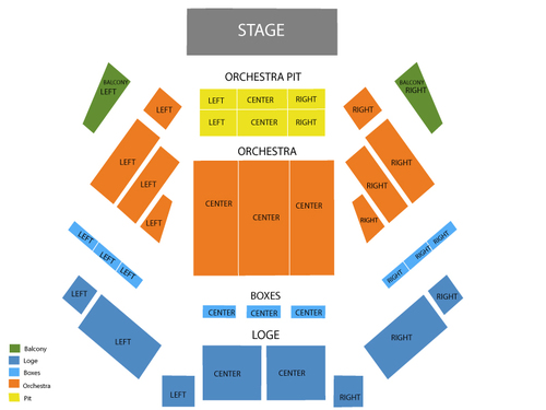 Tilles Center Concert Hall Seating Chart wwwpicswe