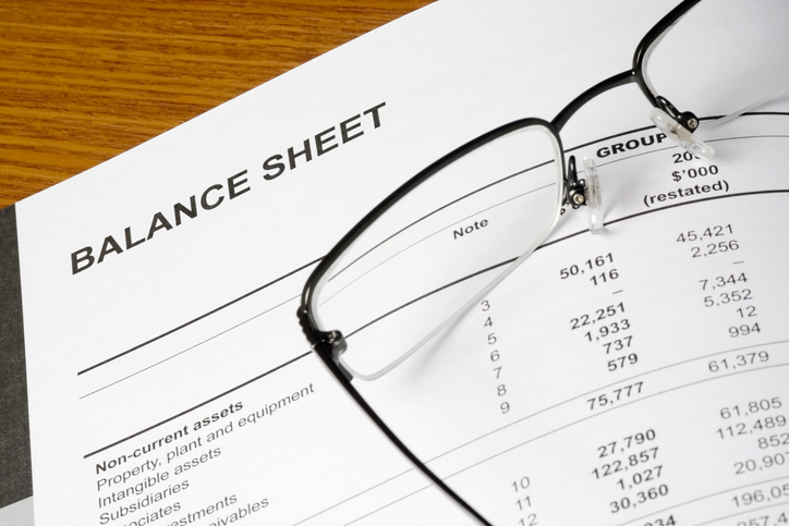 Preparing a Balance Sheet - balance sheet