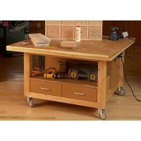 Reliably Rugged Assembly Table Woodworking Plan from WOOD ...