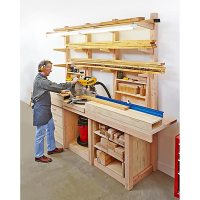 Multipurpose Workcenter Woodworking Plan from WOOD Magazine