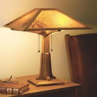 Arts & Crafts Lamp Plan Woodworking Plan from WOOD Magazine