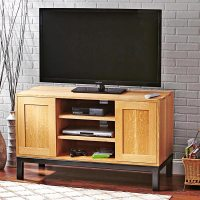 Straightforward and Spacious TV Stand Woodworking Plan ...