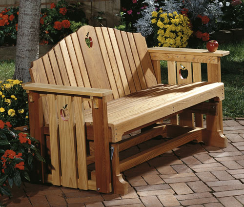 Table Picnic Bois Castorama Porch Glider : Large-format Paper Woodworking Plan From