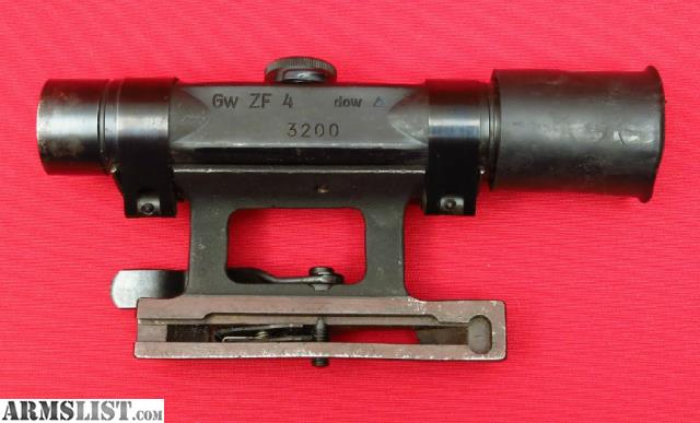 Armslist For Sale Wwii German Zf4 G43 Sniper Scope