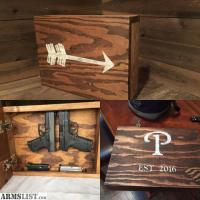 ARMSLIST - For Sale: Concealed Gun Cabinet