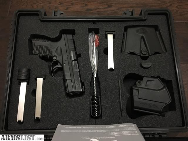 Armslist For Sale Springfield Xds 9mm