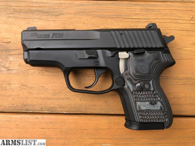 Armslist For Sale Sig P224 Extreme Da Sa 9mm