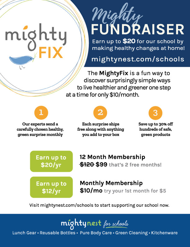 School Fundraiser Resources and Flyers - MightyNest