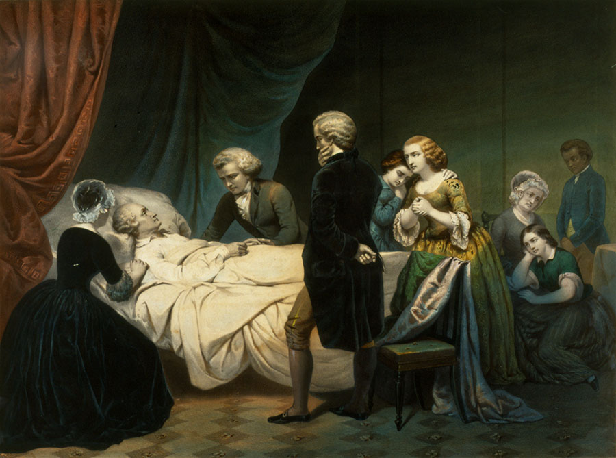 The Death Of George Washington George Washington39s Mount