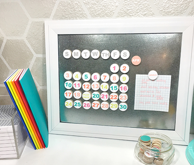 DIY Perpetual Calendar - MyPrintly