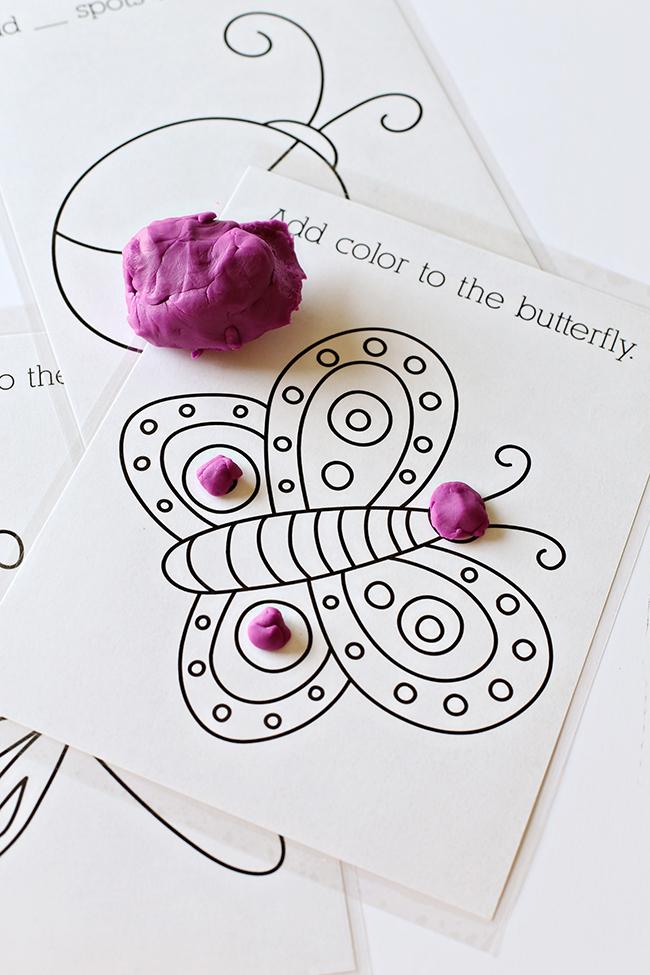 Printable Playdough Mats - MyPrintly